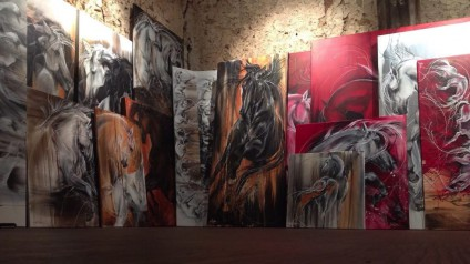 Sandrine Koller - Peintre equestre