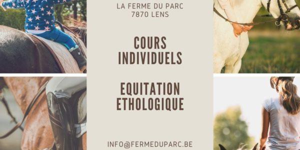 Le 01 juin 2020 : !! Nouveau!! : Cours d'équitation éthologique individuel.